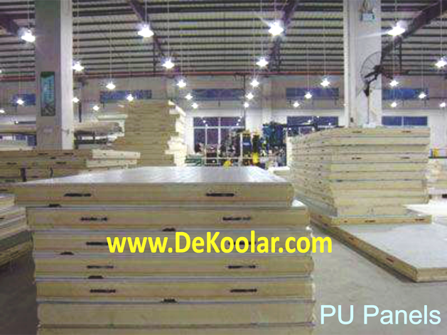 PU Panels for Coldroom In Nigeria