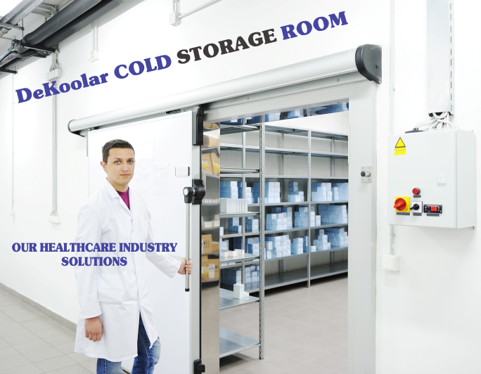 Blood Bank Coldroom for Storage
